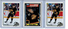 1992-93 LOT OF 3 PAVEL BURE ROOKIE TOPPS SUPER ROOKIE UPPER DECK ROOKIE REPORT