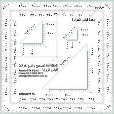 Arabic Protractor
