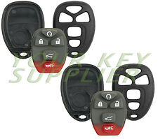 2 New Replacement Keyless Entry Remote Key Fob Shell Case 5 Button Pad OUC60270