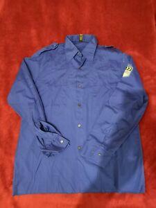 FDJ Hemd Bluse Größe 39 L Blauhemd DDR Original