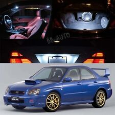 For 04-05 Subaru Impreza AWD STI WRX LED Xenon White Light Bulb Interior Kit