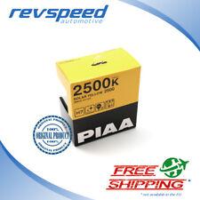 PIAA H7 Solar Yellow Halogen Fog Light Headlight Bulbs 2500k 55w 2 pack