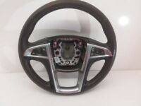 2011 2012 Buick Regal Leather Steering Wheel w/Audio & Cruise Control OEM