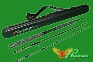 Phenix redeye travel series rod RTX-760-3M line weight 15-40lb