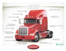 "2012 Peterbilt Model 386 ""1st issued"" Mid-America Truck Show Promo info card"