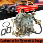 Carburetor Carter Type Bbd 2 Barrel For Dodge Plymouth 273-318 Engines 1966-1973
