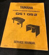 YAMAHA Combo Keyboard Instruments GS1/GS2