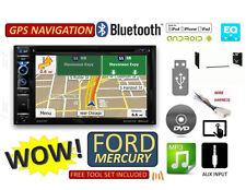 FORD MERCURY BLUETOOTH DVD GPS NAVIGATION SYSTEM  CD USB AUX BT CAR Radio Stereo