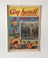 Coq Hardi n°4 Octobre 1954. Nouvelle serie bi mensuel