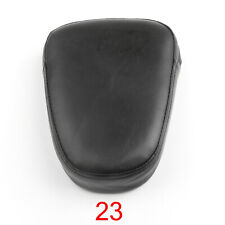 Black Studded CUSHION PAD Sissy Bar Backrest for Yamaha Suzuki Honda Kawasaki