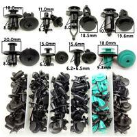 120Pcs Car Fastener Clips Push Pin Rivet Retainer Trim Moulding Assortments Kit
