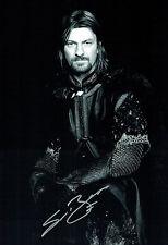Sean BEAN Signed Autograph Hugh 18x12 Boromir Lord of the Rings Photo AFTAL COA