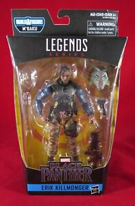 Marvel Legends TACTICAL ERIK KILLMONGER Black Panther No BAF