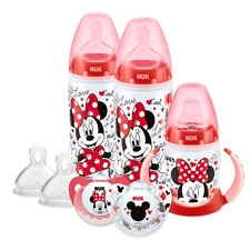 Minnie Mickey Mouse Bottle Cup Soother Set 6 to 18 Months NUK Disney