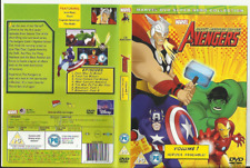 THE AVENGERS: EARTH'S MIGHTIEST HEROES! VOLUME 1 & 2 (2010) TWO DVDS
