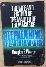 STEPHEN KING The Art of Darkness by Doug Winter (1986) Plume illustrated SC 1st
