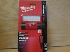 Brand New  Milwaukee  2114-21  550 Lumens USB Rechargeable Pivoting Flood Light