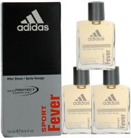 Sport Fever By Adidas For Men Combo Pack: After Shave Splash 1.5oz(3x.5 Bottles)