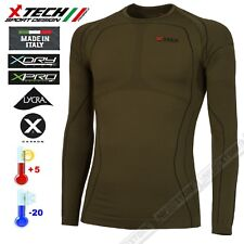 Maglia Tecnica Termica X-TECH Predator3 Extreme -20° Made in Italy Termic Shirt