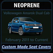 Waterproof Neoprene Seat Covers for Volkswagen Amarok Dual Cab: 02/2011 - on