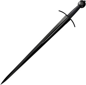 Cold Steel MAA Arming Fixed Carbon Steel Blade Black Leather Handle Sword 88ARM