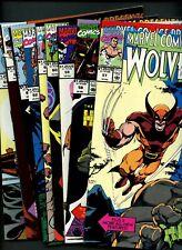 Marvel Comics Presents 57,58,59,60,61,62,63,64,65 (1990) ^9 Books^ Wolverine!