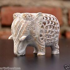 Artist Haat Made Elephant Sculpture Wealth Animals Figurine Home & Office Decor