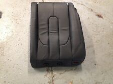 12 13 Land Rover Range Evoque Black rear right upper leather seat back rest OEM