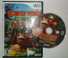 Donkey Kong Country Returns (Nintendo Wii, 2009) **DISC & REPLACEMENT CASE**