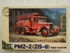 PST 72047 PMZ-2 (ZiS-6) Fire Engine 1:72 Neu, Bauteile versiegelt
