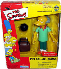 Simpsons Pin Pal Mr. Burns Toyfare Mail-Away Exclusive Bowling MIB RARE Toy