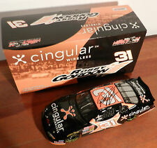 2003 ROBBY GORDON #31 CINGULAR REVERSE PAINT 1/24 SIGNED action diecast car RCR