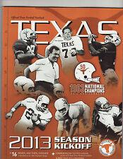 2013 Texas College Ncaa Football Yearbook Mack Brown