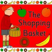 THE SHOPPING BASKET - teaching story resources on CD- EYFS, KS1, food