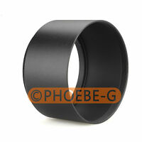 49mm Tele Metal Screw-in Lens Hood For Canon Nikon Sony Olympus Camera