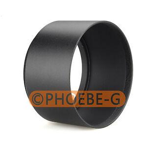 49mm Tele Metal Screw-in Lens Hood For Canon Nikon Sony Olympus Camera