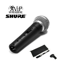 Shure SM58S Pro Vocal Microphone On/Off Switch SM58 Mic -Authorized Dealer-