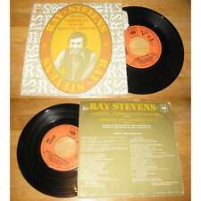 RAY STEVENS - America Communicate With Me French PS Folk US W/Languette