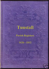 Genealogy - Tunstall Parish Registers (Lancashire)