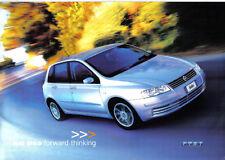 Fiat Stilo 3 & 5 door Active Dynamic Abarth c.2002 Original UK Market Brochure