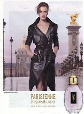 PUBLICITE ADVERTISING 2011  PARISIENNE  YVES SAINT LAURENT