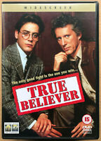 True Believer DVD 1989 aka Fighting Justice Court Room Drama Film Movie Classic