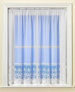 Best Selling Ashurst Brazil Base Lace White Net Curtain Premium Quality & Value