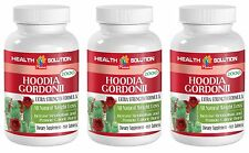 Unique Weight Loss Hoodia Gordonii Cactus 2000mg (3 Bottles)
