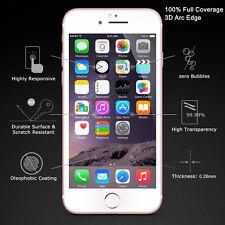 Iphone 6/6s Cristal Templado cobertura completa 3D 9 H 0.26 mm Blanco Protector de pantalla