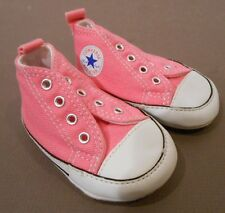 Chuck Taylor Converse shoes size 1 toddler, pink, great shape