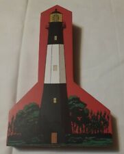 1998 Hometowne Collectibles Tybee Island Lighthouse Eastern Lighthouse Series