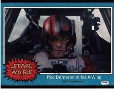 OSCAR ISAAC SIGNED POE DAMERON STAR WARS THE FORCE AWAKENS 11X14 PHOTO AUTO PSA