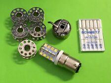 Nähmaschinen Zubehör, Spulenkapsel, Spulen, Nadel-LED Lampe , Singer, Pfaff, AEG