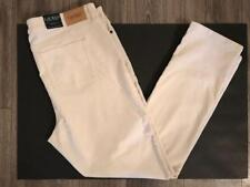 Ralph Lauren Plus 16wX32 NWT $110 Ivory Cord Jean Straight Slimming Pant NEW